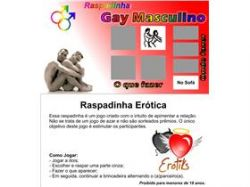 Raspadinha Gay Masculino - Unidade