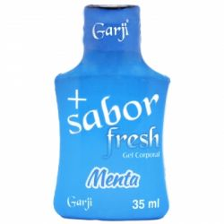 + SABOR FRESH GEL COMESTÍVEL MENTA ICE 35 ML GARJI