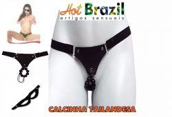 CALCINHA TAILANDESA COM PÉROLAS HOT BRAZIL