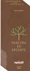 PERFUME MASCULINO MADEIRA DO ORIENTE SPRAY 60ML - APINIL