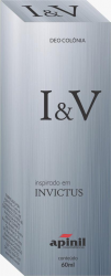 PERFUME MASCULINO INVITUS SPRAY 60ML - APINIL