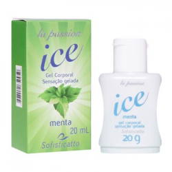 Gel Comestível/Massagem ICE (ESFRIA) 20g - Sofisticatto