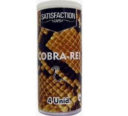 BOLINHAS EXCITANTE QUADRIBALL COBRA REI COM 4 UNIDADES - SATISFACTION