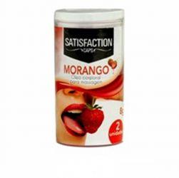 BOLINHAS BEIJÁVEIS MORANGO  C/ 2 UNID SATISFACTION