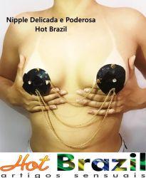 NIPPLE PODEROSA E DELICADA COM CORRENTES HOT BRAZIL