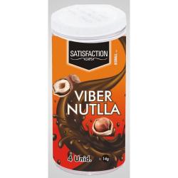 BOLINHAS EXCITANTE QUADRIBALL VIBER NUTLLA (VIBRA) COM 4 UNIDADES - SATISFACTION