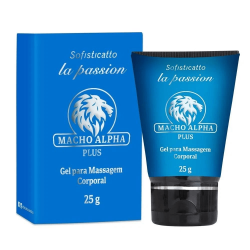 MACHO ALPHA PLUS GEL (PROLONGA E RETARDA) 25G RETARDANTE MASCULINO SOFISTICATTO