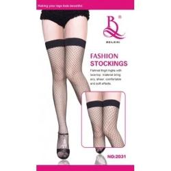 Meia 7/8 Arrastão Fashion Stockings Beileisi