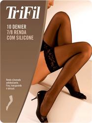 Meia Calça Trifil 7/8 Fashion BRANCA