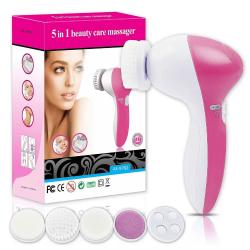 Aparelho De Limpeza Facial Massageador Elétrico 5 Funções