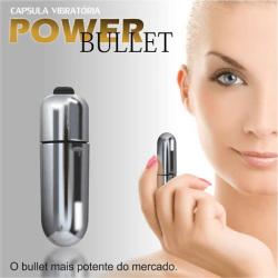 Vibrador para Estimular o Clitóris - Power Bullet - 6 cm - COD. 5162