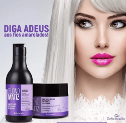 Kit Blond Matizador Sofisticatto