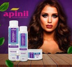 Super Kit Restauração Capilar Pantenol Hair Apinil