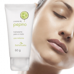 Creme de Pepino Hidratante para o Rosto 60 g  Sofisticatto