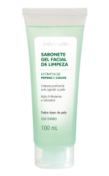 Sabonete Gel Facial de Limpeza 100 ml Sofisticatto