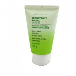 Hidratante Facial Diurno Pepino + Couve + Colágeno 60g - Sofisticatto