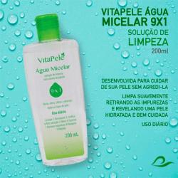 VitaPele Água Micelar 9 em 1 - Sofisticatto