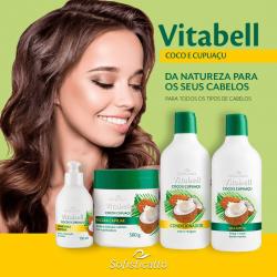 Kit Capilar Vitabell Coco e Cupuaçu Sofisticatto